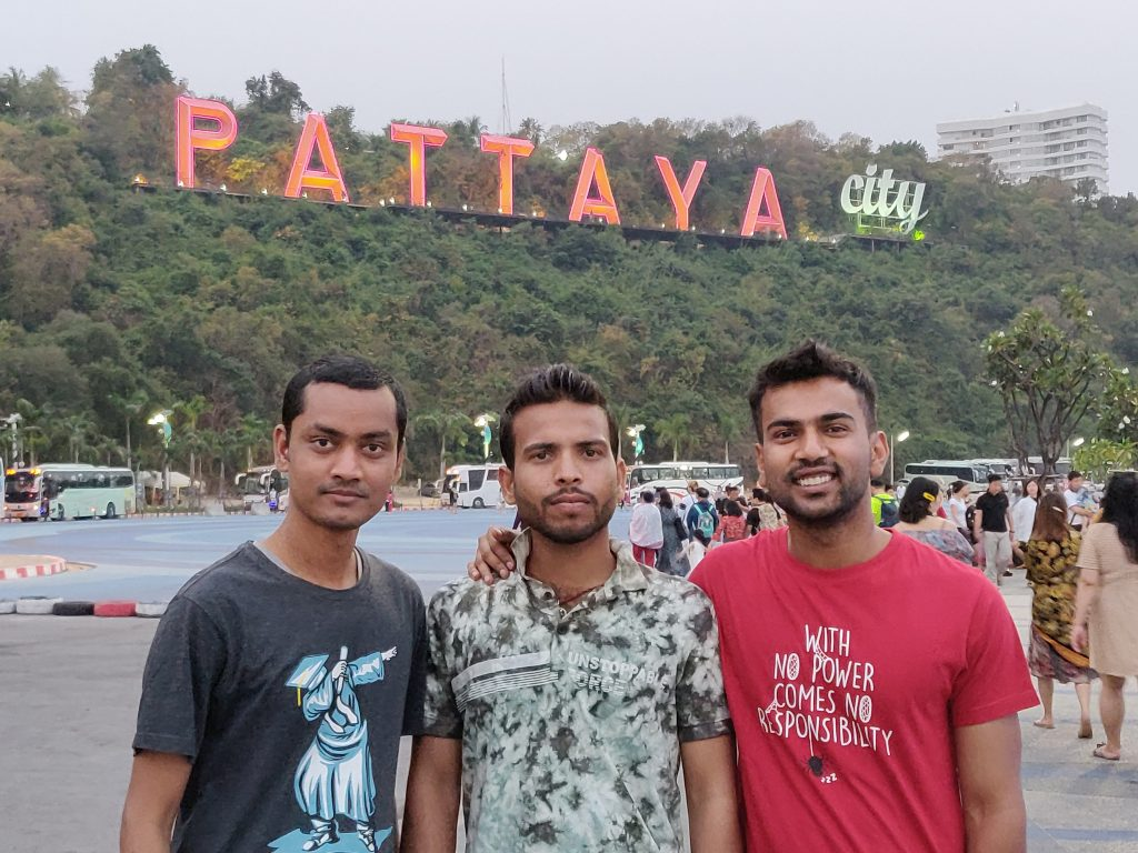 3 idiots in Pattaya