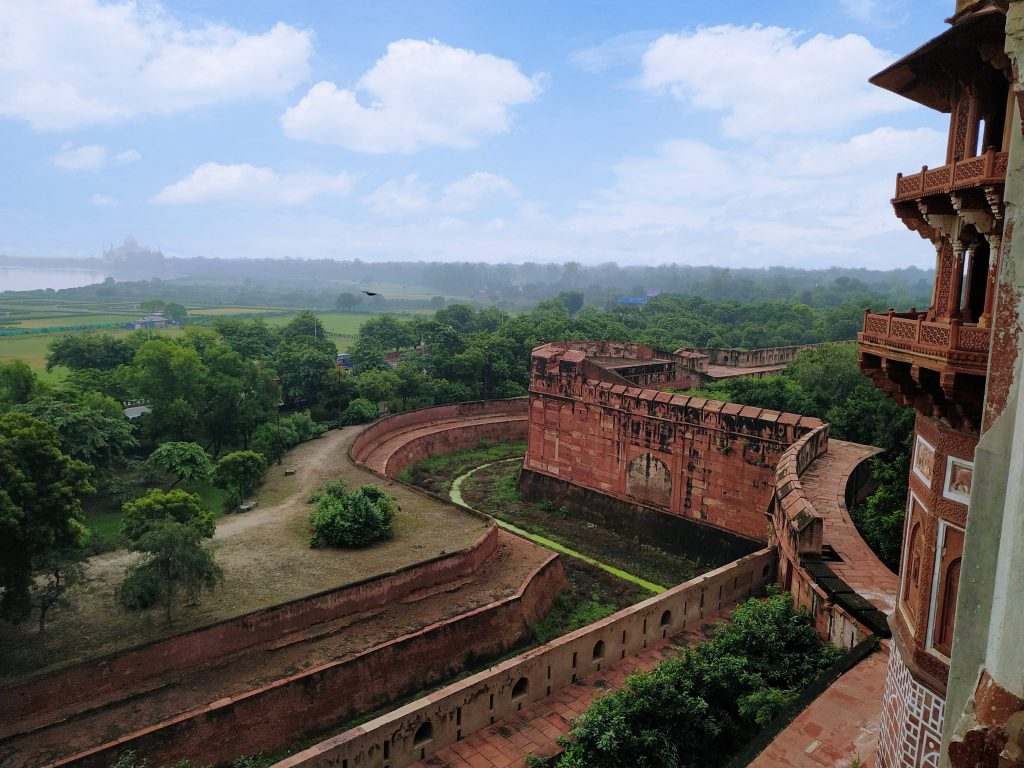 The Agra fort View