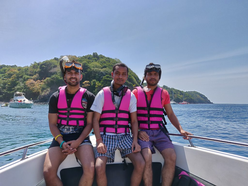 Snorkeling and island tour in Phuket