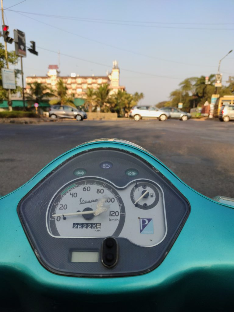 Scooter for rent in Goa