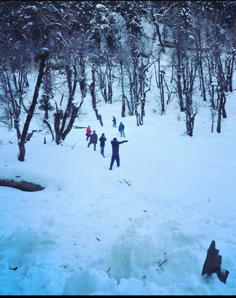 winter trek in india