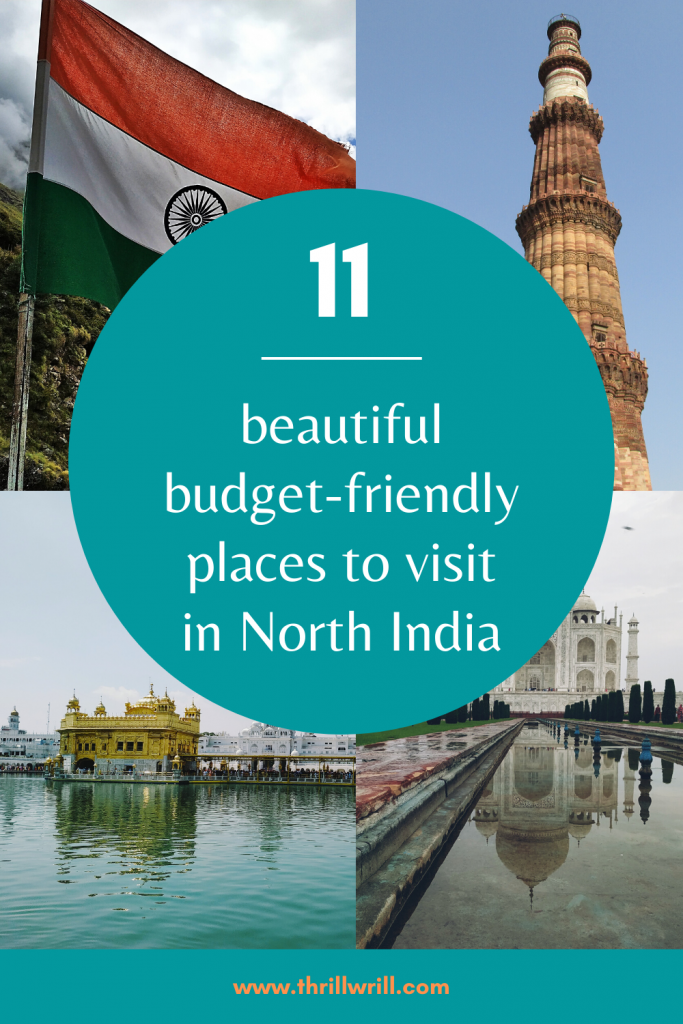 Budget friendly places to visit in North India