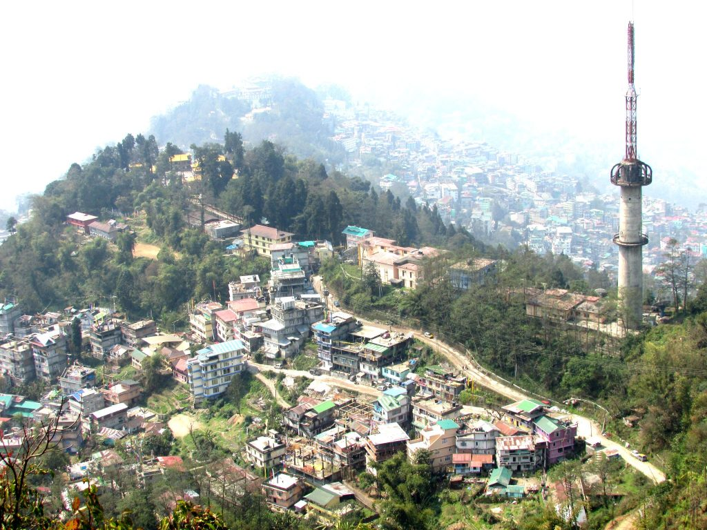 Gangtok City View