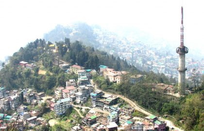 Backpacking Gangtok