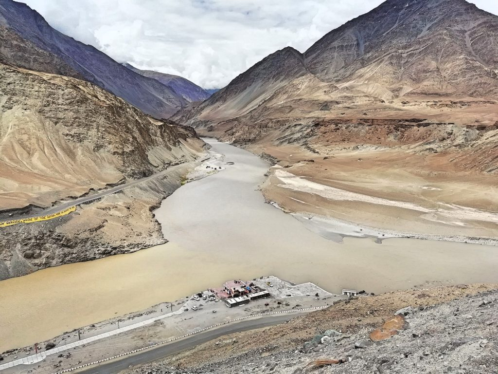 A perfect landscape in Leh